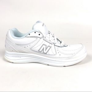 New Balance 577 White Walking Shoes B WW577WT USA